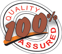 100% guaranteed quality of materials and installation for all new windows, doors and roofs